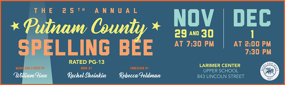 Putnam County Spelling Bee poster